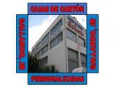 Cajas de Cartón Gallardo, JR. - Cajas de cartón personalizadas