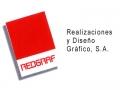 Redgraf. Realizaciones y Diseño Gráfico, S.A. - logo
